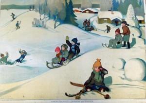 Lasten talvi-ilot