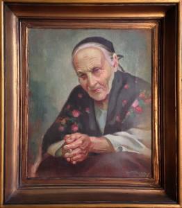 Maria Ryymin, öljy 1935